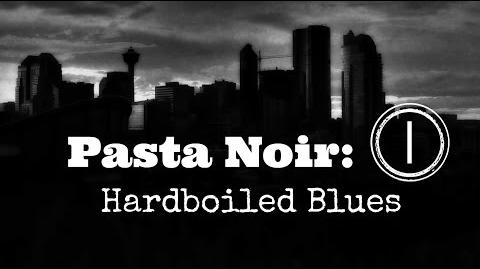 "ASMR ""Pasta Noir Hardboiled Blues"" Creepypasta (Part 1 of 12) Let's Read!"
