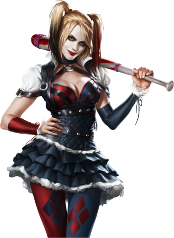 File:Batman arkham knight harley quinn by ivances-d7b0qa1.png