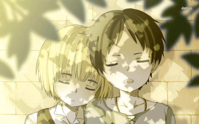 File:18550-armin-arlert-and-eren-yeager-attack-on-titan-1280x800-anime-wallpaper.jpg