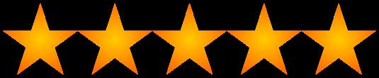 Resultado de imagen para 5 estrellas png