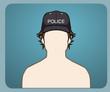 Police Cap male