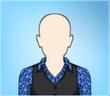 Blue Leopard Waistcoat