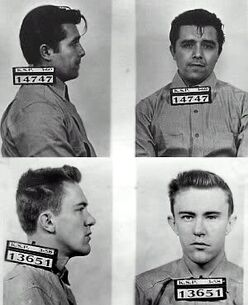 Hickock and Smith mugshots