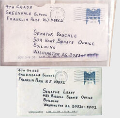 Amerithrax envelopes