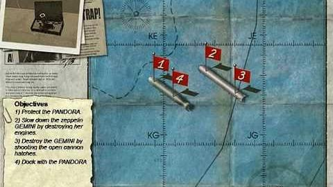 Crimson Skies Briefings - Dreadnaughts Clash
