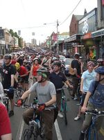445px-Critical Mass Melbourne - Brunswick St