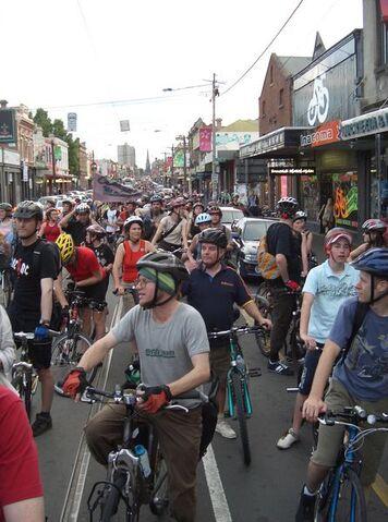 File:445px-Critical Mass Melbourne - Brunswick St.JPG