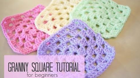 CROCHET How to crochet a granny square for beginners Bella Coco