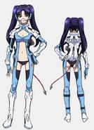 Salia Uniform Front Back