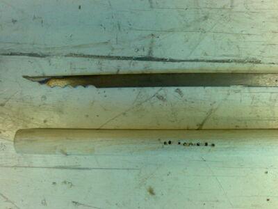 Metal fletching method 2-05