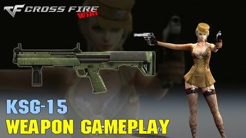 CrossFire - KSG-15 - Weapon Gameplay