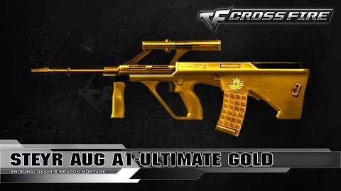 CrossFire China 2.0 - Steyr AUG A1-Ultimate Gold ☆