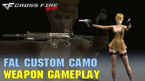 CrossFire - FAL Custom Camo - Weapon Gameplay