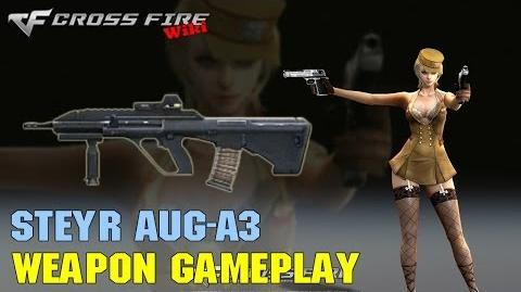 CrossFire - Steyr AUG A3 - Weapon Gameplay