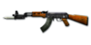 RIFLE AK-47-Knife