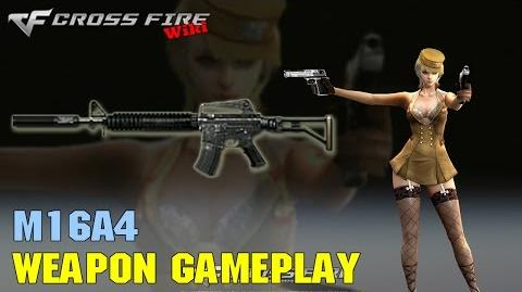 CrossFire - M16A4 - Weapon Gameplay