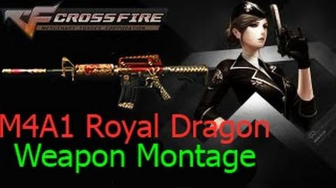M4A1-Royal Dragon in Ghost Mode Crossfire Viet Nam