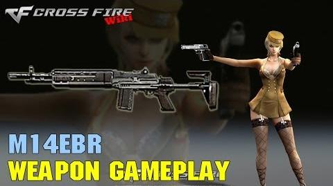 CrossFire - M14EBR - Weapon Gameplay