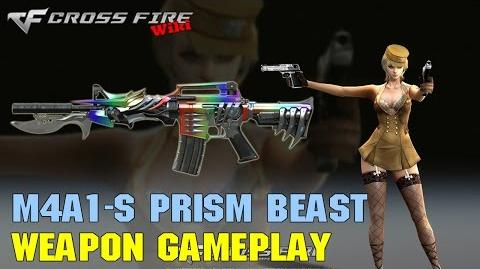CrossFire - M4A1-S Prism Beast - Weapon Gameplay