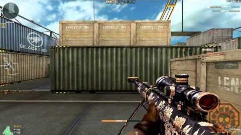 Cross Fire China Barrett M82A1-Peony GamePlay!