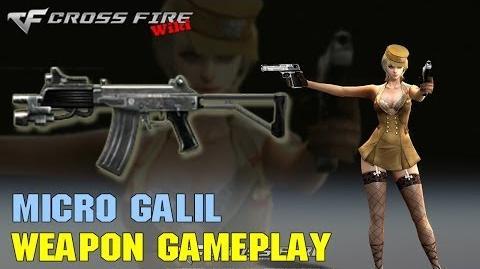 CrossFire - Micro Galil - Weapon Gameplay