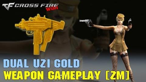 CrossFire - Dual Uzi Gold - Weapon Gameplay