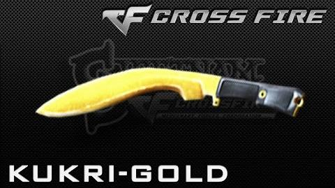 CrossFire Vietnam Kukri-Gold (Knife) ☆