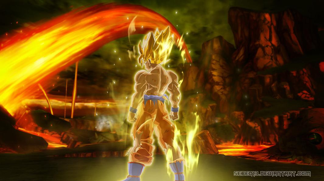 Epic Dbz Wallpapers High Resolution: Image - Goku Wallpaper By Sebeq13-HD.jpg
