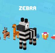 CrossyRoad Portrait Zebra