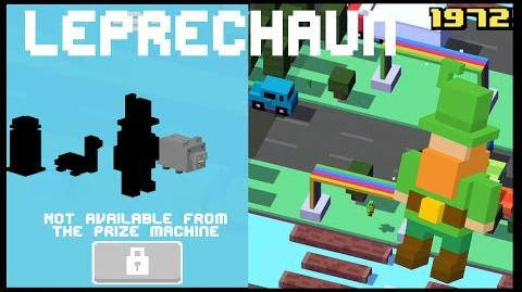 CROSSY ROAD LEPRECHAUN Unlock NEW Secret Character UK Update Android, iOS (iPhone, iPad)
