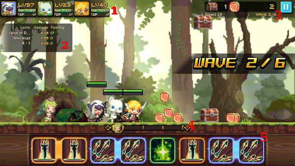 Crusaders Quest: Fast Paced Puzzle Combat (iOS, Android) | NeoGAF