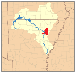 White River Monster Map