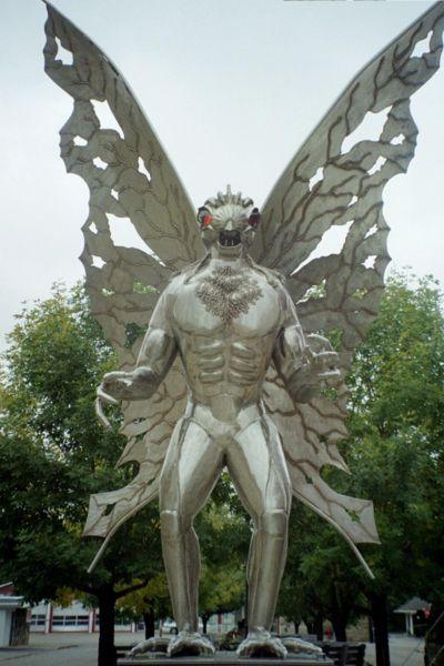 8) Mothman | Myths and Legends