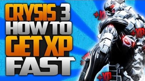 Crysis 3 Secrets How To Level Up And Get XP FAST!