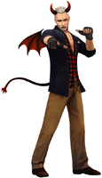 David wdevil costume