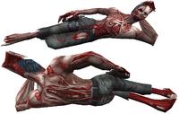 Normal regular zombie dummy