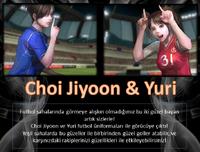 Choijiyoon yuri soccer turkey poster