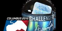 MLG Columbus 2016 Autograph capsules
