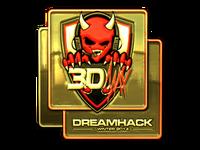Csgo-dreamhack-2014-3dmax-gold