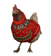 Chicken christmas
