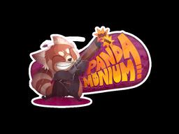 File:Csgo-community-sticker-2-pandamonium.png