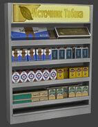 De vostok Cigarette Display