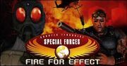 CT Special Force Fire for Effect cover for Playstation 2