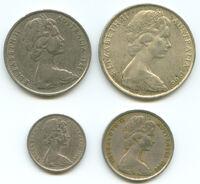 Aus coins queen elizabeth 1966