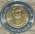 Mariano Matamoros 5 peso coin 2008.jpg