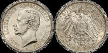 Saxe-Weimar-Eisenach 2 mark 1892