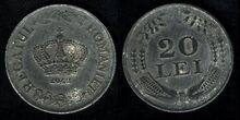 Romanian 20 lei 1942