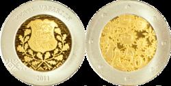 Estonia 20 euro 2011