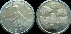 Zimbabwe 1 dollar