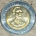 Francisco Primo de Verdad y Ramos 5 peso coin 2008.jpg